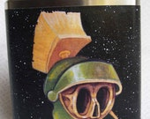 Flask - Marvin the Martian Skull in Space