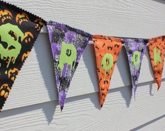 """Sale Halloween Banner-""""Spooky"""""""
