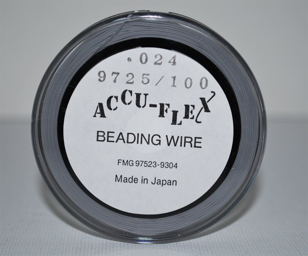 accu flex snow white 49 strand 024in 100 ft beading wire