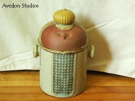 Rare Vintage UCCTI Japan Cookie Jar CircaI1950'S OR1960,S