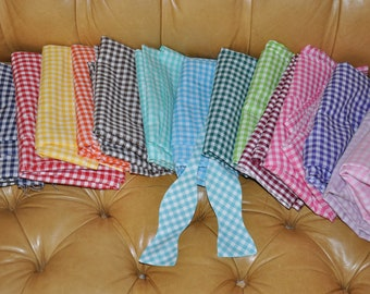 Adult Bow Tie 1/4 Gingham