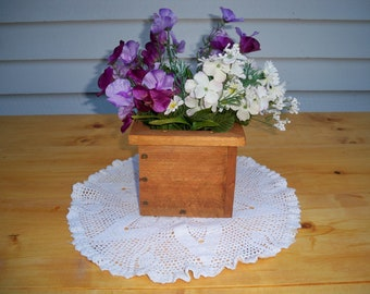Decorative Wood Box, Decorative Wood Centerpiece, Wedding Centerpiece, Coffee Table Centerpiece, Decorative Wood Boxes,