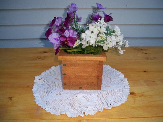 Decorative Wood Box, Decorative Wood Centerpiece, Wedding Centerpiece, Coffee Table Centerpiece, Decorative Wood Boxes,