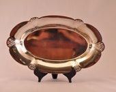 SALE! Art Deco Inspired Silver Plated WM Rogers Tray