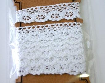 A Set of  Machine Bobbin Lace