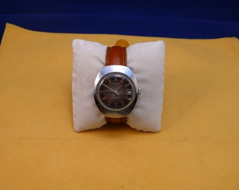 "USSR ""POLJOT""  (Flight) wrist watch 1960  unusual violet dial ultra rare 17 jewels VERY very good condition"
