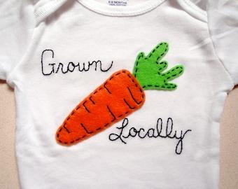 Grown Locally Baby Bodysuit