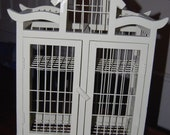 Lovely Cream colored Birdcage