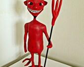 Whimsical Lil Devil sculpture