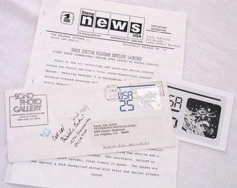 Philatelic Memorabilia 25-cent Holographic Envelope Press Release