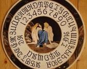 "FREE SHIPPING Ouija board  - Spiritistic board - Talking board ""Goddess of the Black Moon"""