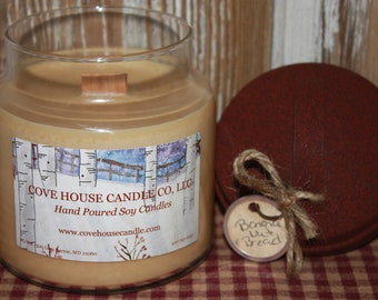 16oz. Soy Wooden Wick Container Candle