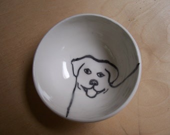 little Labrador bowl
