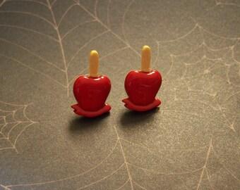 Carameled  Apple Earrings