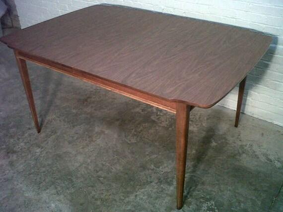 Mid-Century Danish Modern Dining Table - SEATS 12  -  Nice Mad Men / Eames Era Decor