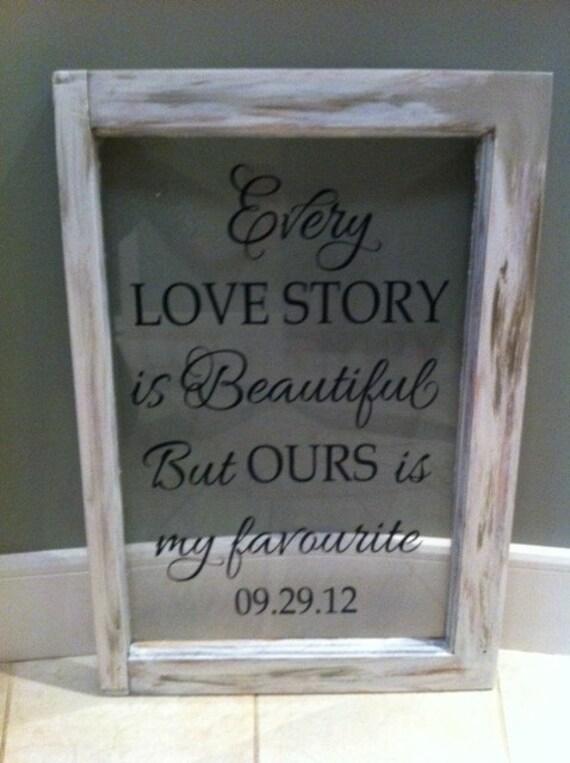 Like this item. VINYL ONLY Romantic Sayings Vinyl Wedding Master bedroom