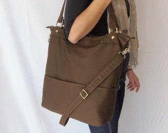 Canvas tote bag - Canvas bag - Canvas laptop bag - LARYS