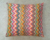 Zig Zag 18x18inch Pillow Cover