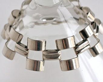 Vintage Wide Strip Bracelet