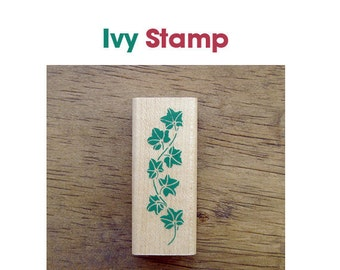 Ivy Rubber Stamp **