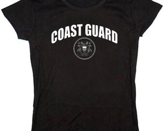 Ladies t-shirt / United States Coast Guard