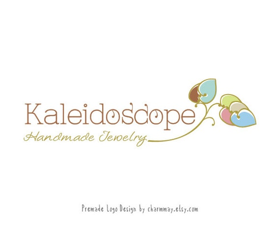 Premade logo - Jewelry Shop logo - Custom Business logo design - Premade Custom logo design - Handmade Boutique Logo