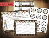 Peter Rabbit Baby Shower Party Bundle for All Occasions