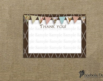 Peter Rabbit Thank You Card or Card Insert (Classic Peter Rabbit Collection)