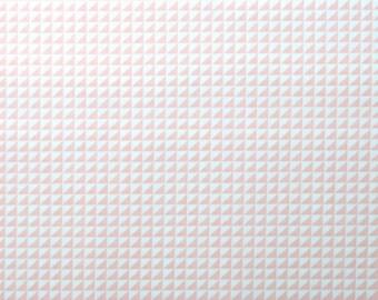 Monaluna Organic Fabrics Havana Collection One Yard of  in Waffle in Pink