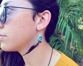 Peace & Feathers-Earrings