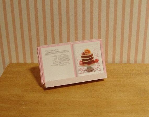 Miniature Open Cake Cookbook