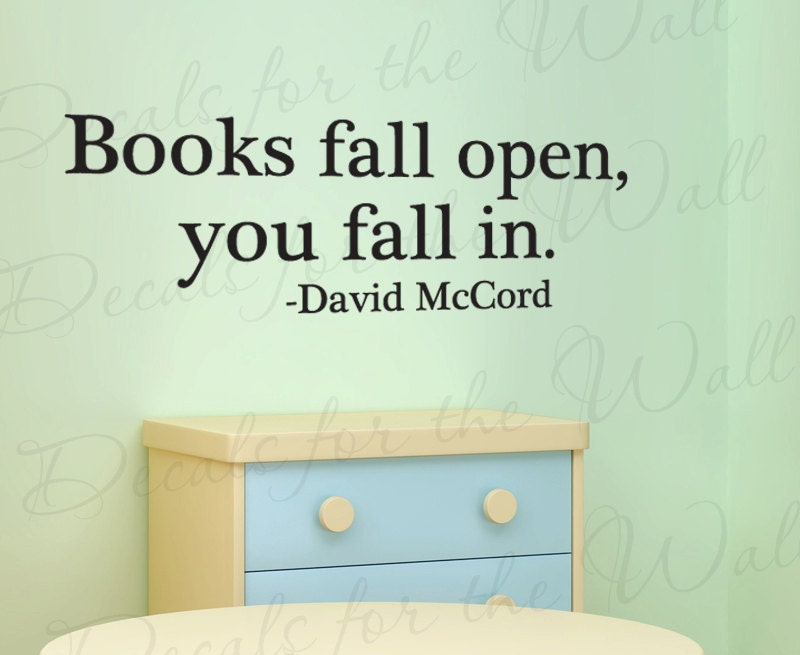 Items Similar To Reading David McCord Books Fall Open You In Boy Girl  Themed .