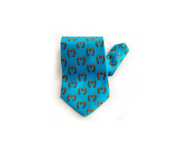 MOSCHINO, Vintage Men's Tie, Made in Italy, Wedding Tie,100% Silk.