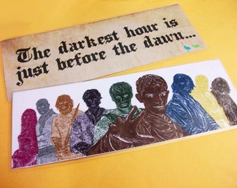 Merlin Bookmark- The Round Table