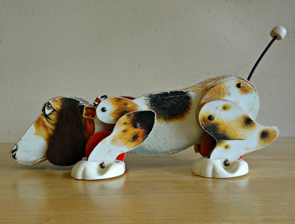 Fisher Price Snoopy Dog Pull Toy