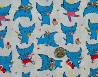 The Pixie Pops Cat - Fabric By The Yard