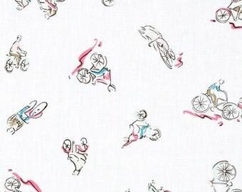 Dear Stella J'Adore Paris Bike - Fabric By The Yard - H
