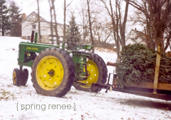 Items Similar To John Deere Christmas Cards Greeting
