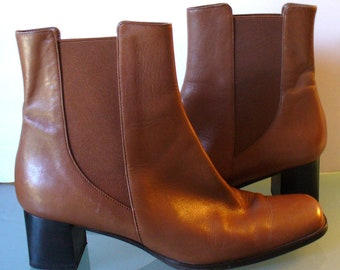Talbots Made in Italy Heeled Chelsea Boots Size 8M
