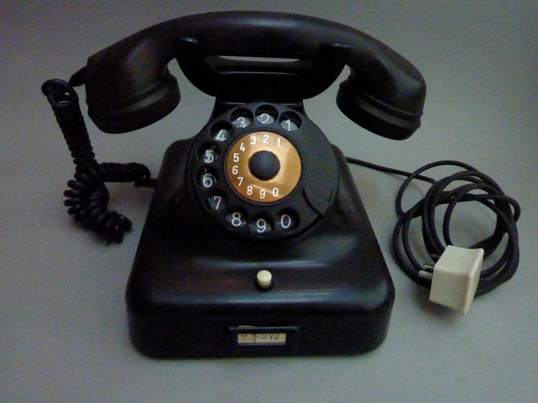Telephone 1950 1950 German Bakelite D...