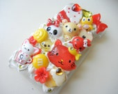 Ipod Touch 4 Kawaii Decoden Deco Case Whip  Theme Snap Case