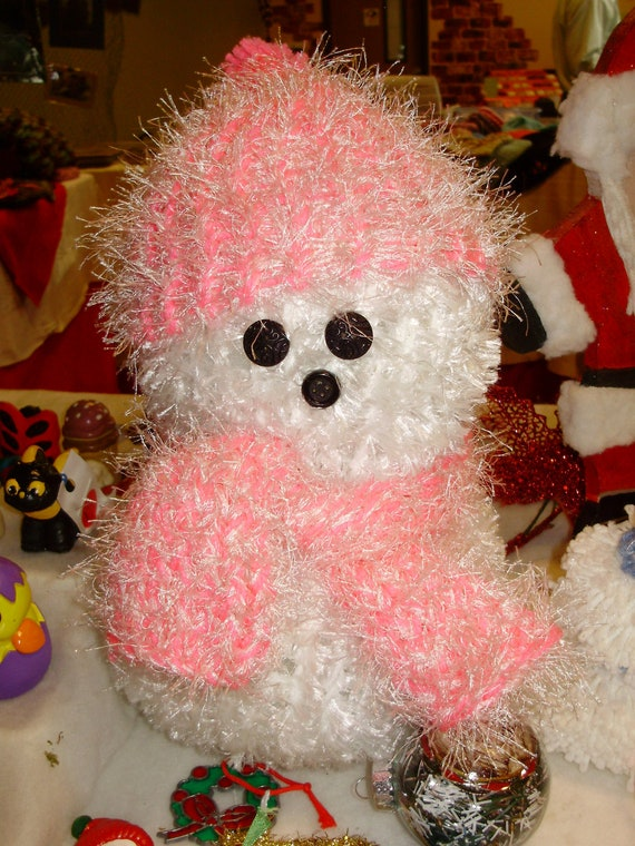 Knitted Snowman/Snowlady