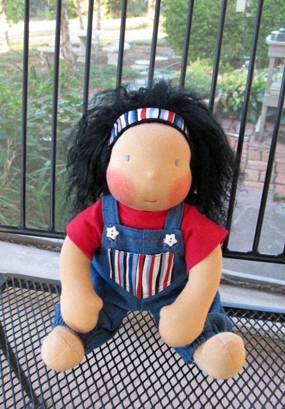 Waldorf inspired doll, CUSTOM ORDER, Riley Johanna