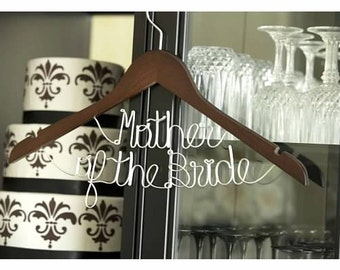 WINTER SALE 15% OFF -- Mother of the Bride Hanger
