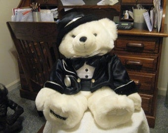 Collectible New Year Teddy Bear 2000