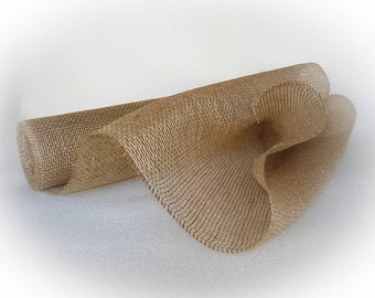 "Light Natural Burlap Roll 20"" wide x 5 yards"