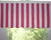 """Made-to-Order Valances  10 to 18 """" High and up to 42"""" wide - (Choose your Fabric, Width and Height)"""