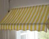 """READY-MADE Indoor Awning Curtain (31 1/2"""" wide)"""