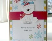 Winter Wonderland Invitations,  Winter Onederland