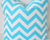 PILLOWS BLUE Turquoise Throw Pillow Covers 20x20 Decorative Aqua blue Throw Pillows Home Decor